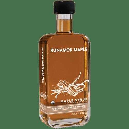 Cinnamon & Vanilla Infused Maple Syrup