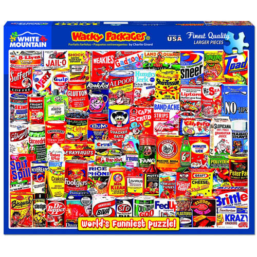 Wacky Packages Jigsaw Puzzle - 1000 pieces