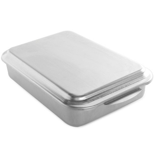Metal Covered Baking Pan