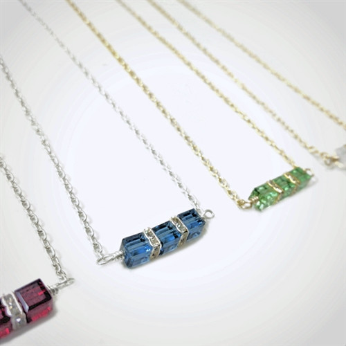 Petite Birthstone Necklace