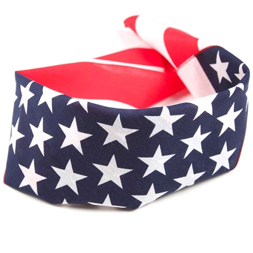 American Flag Bandanas - 3-Pack
