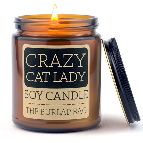 Crazy Cat Lady Soy Candle