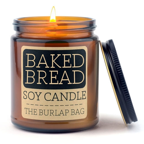 Baked Bread Soy Candle