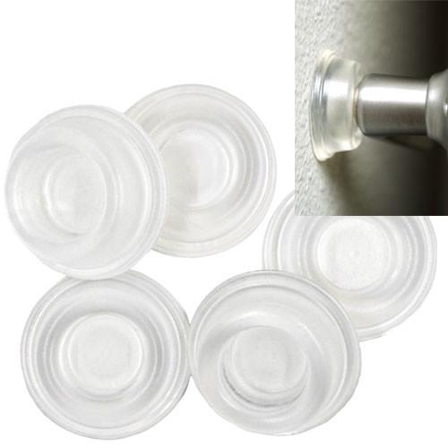 Clear Door Bumpers - 5 Pack