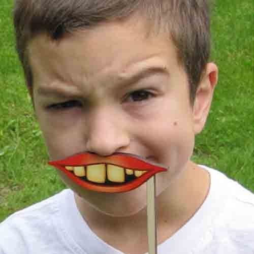 Crazy Mouth Silly Sticks