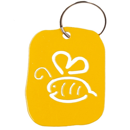 Bee Happy Keyring