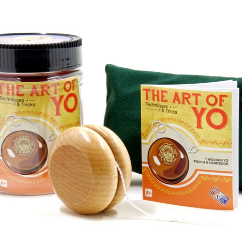 Art of Yo Toy Jar with Canvas Pouch