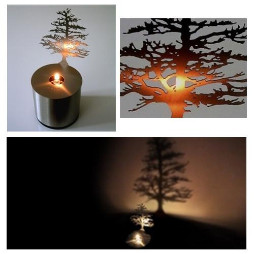 Shadow Light Pine Tree