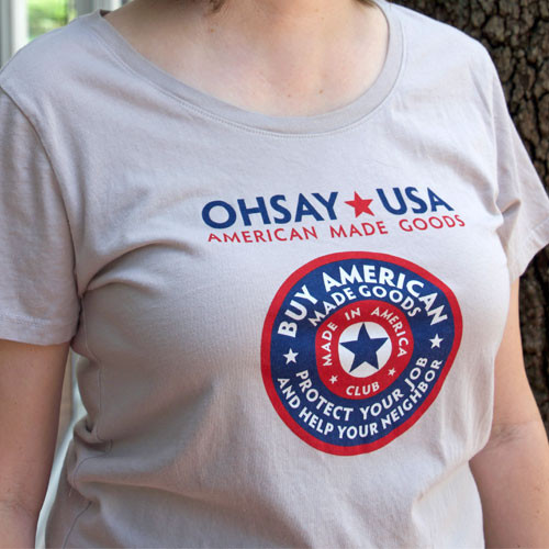 OHSAY USA Club T-Shirt- Men's or Women's Fit