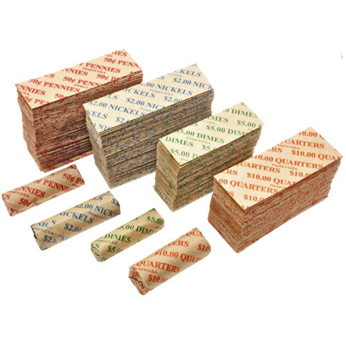 380 Flat Coin Wrappers