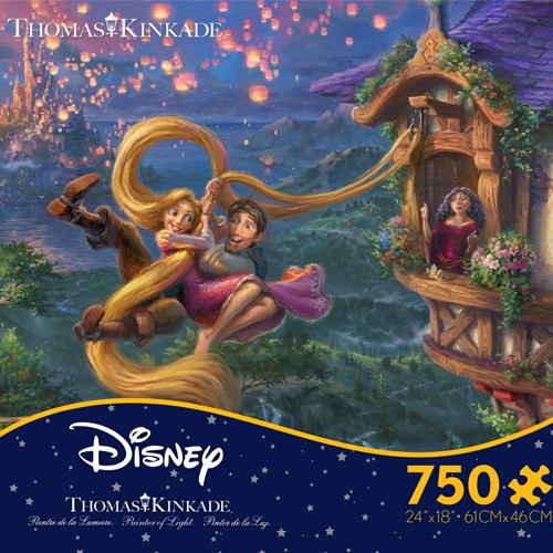 Disney's Tangled Puzzle - 750 pieces (Style 29)