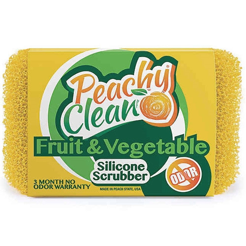 Silicone Fruit and Vegetable Scrubber