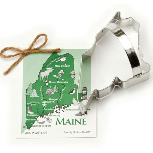 State of Maine Cookie Cutter