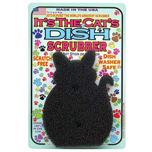 Cat's Dish Scrubber