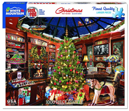 Christmas Seek and Find Jigsaw Puzzle - 1000 pieces