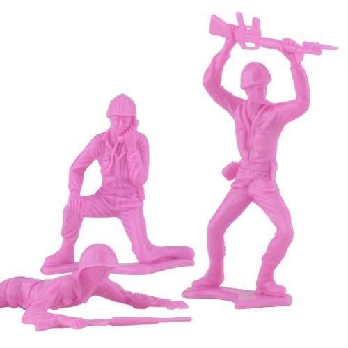 PINK Army Men