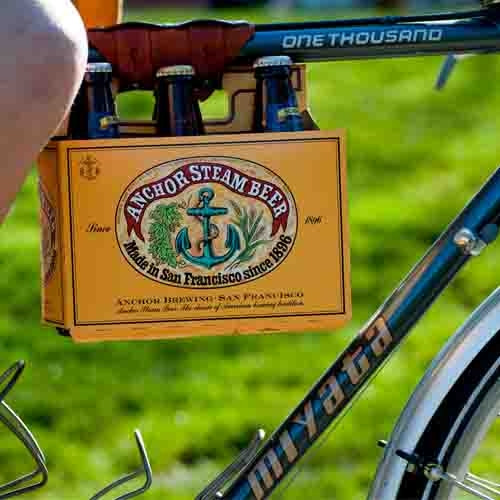 Beer Bike Tote