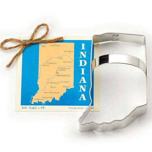 State of Indiana Cookie Cutter