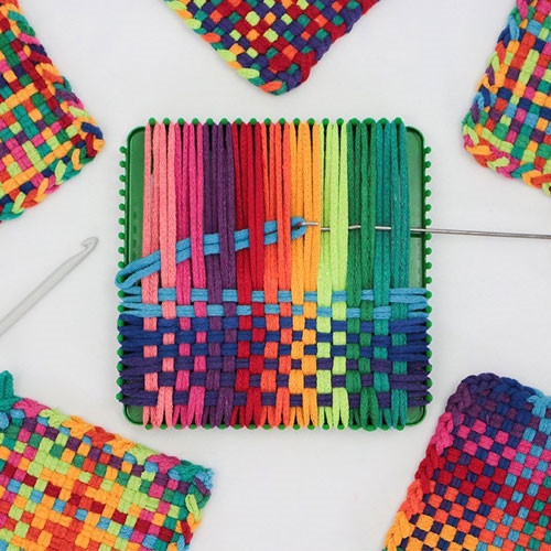 Deluxe Metal Potholder Loom