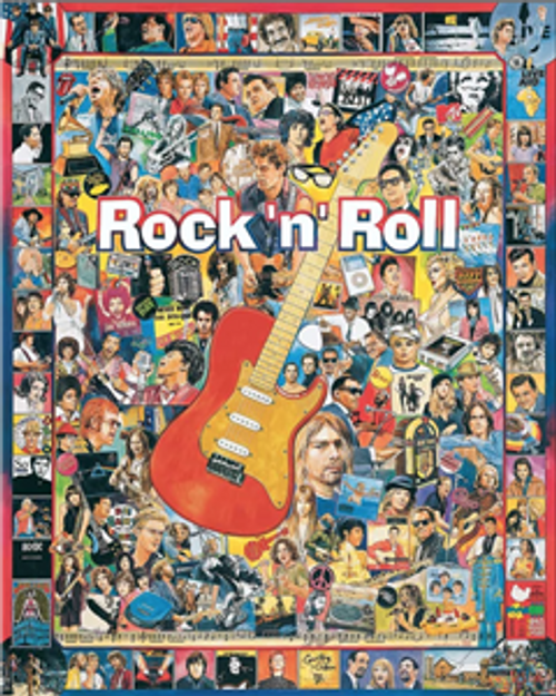 Rock 'n' Roll Jigsaw Puzzle - 1000 pieces