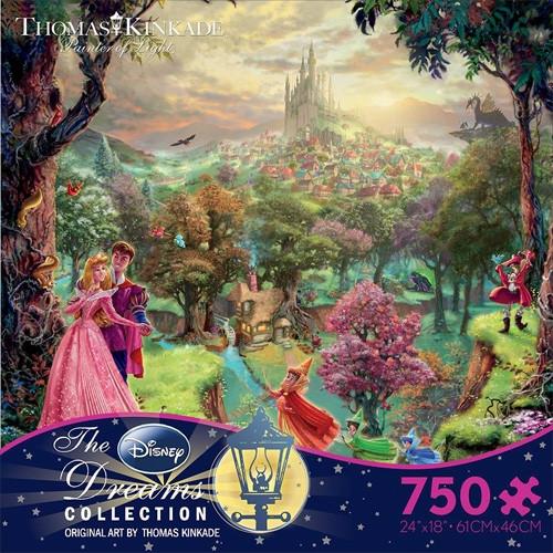 Disney's Sleeping Beauty Puzzle - 750 pieces