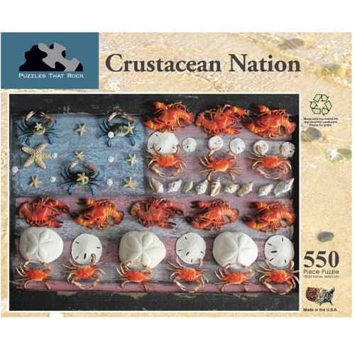 Crustacean Nation 550 Piece Puzzle
