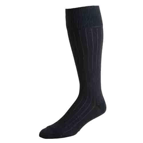 Men's Charcoal Dress Socks