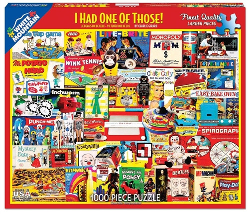 I Had One of Those! Jigsaw Puzzle - 1000 pieces
