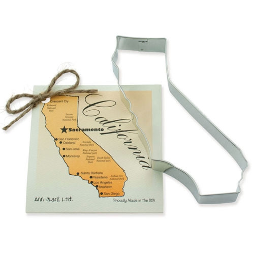 State of California Cookie Cutter