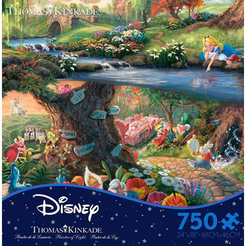 Disney's Alice in Wonderland Puzzle - 750 pieces