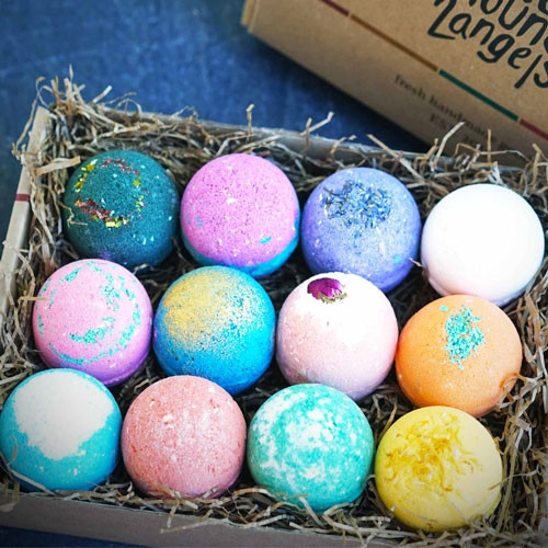Bath Bomb Gift Set - 12 Pack