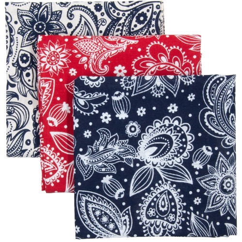 Soft Prims Paisley - 3-Pack