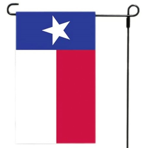 Texas Garden Flag & Holder