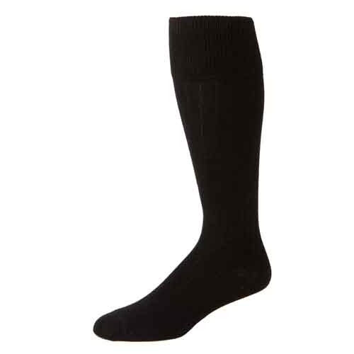 Men's Black Dress Socks