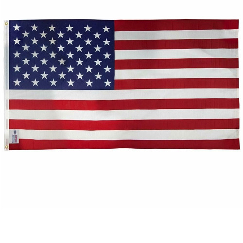 3'x5' USA Flag with Grommets