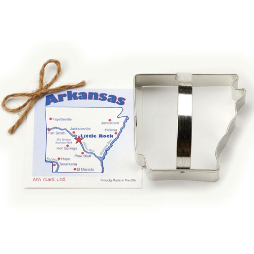 State of Arkansas Cookie Cutter
