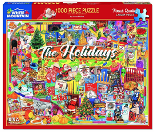 The Holidays Jigsaw Puzzle - 1000 pieces