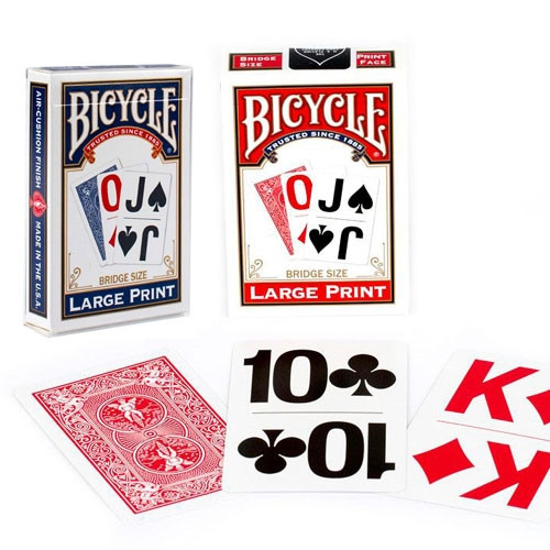 Large Print Playing Cards - 2 Pack