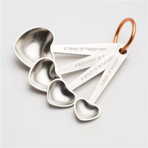 Quotes Heart Measuring Spoon Set