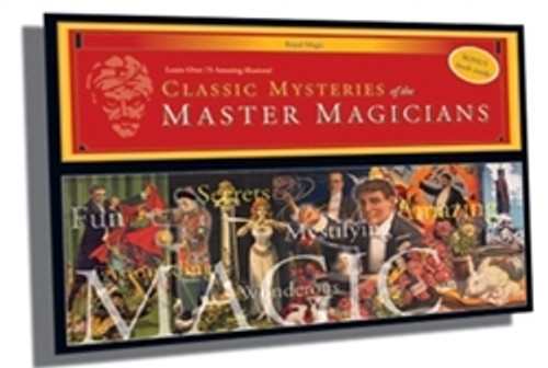 Jumbo Magic Set - Mysteries of the Master Magicians