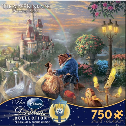 Disney's Beauty and the Beast Puzzle - 750 pieces