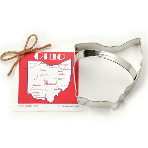 State of Ohio Cookie Cutter