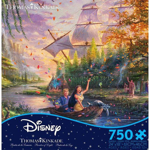 Disney's Pocahontas Puzzle - 750 pieces