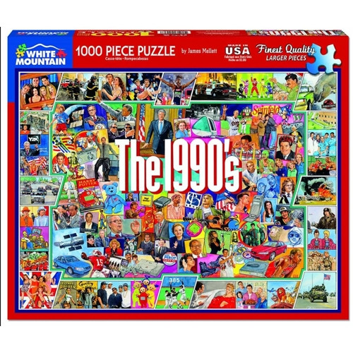 The 1990's - 1000 pieces