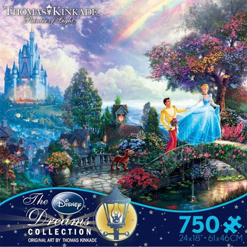 Disney's Cinderella Puzzle - 750 pieces