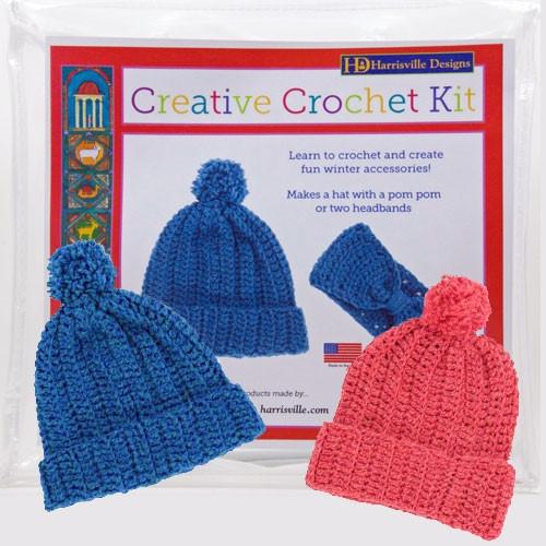 Crochet Hat Kit