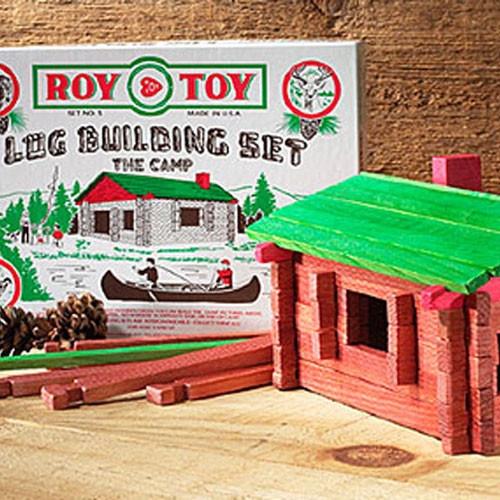 Log Cabin Toy Set