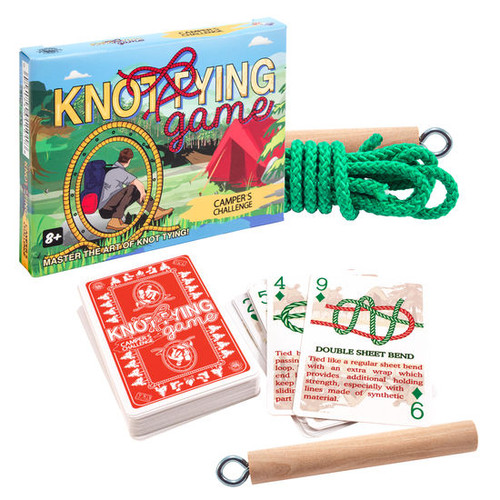 Knot Tying Game - Camper's Challenge