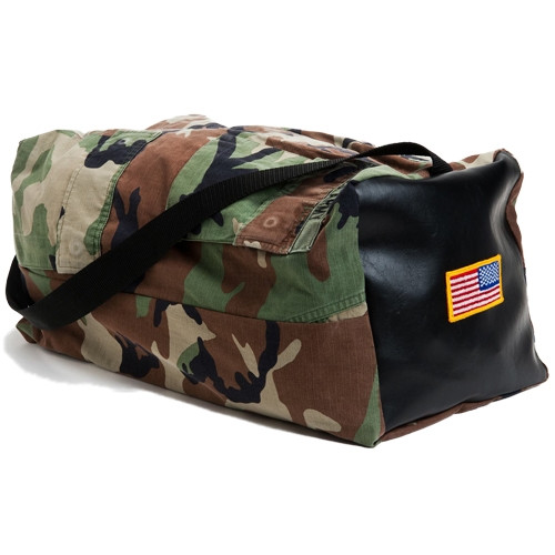 Military Duffel Bag Made From Your Uniform