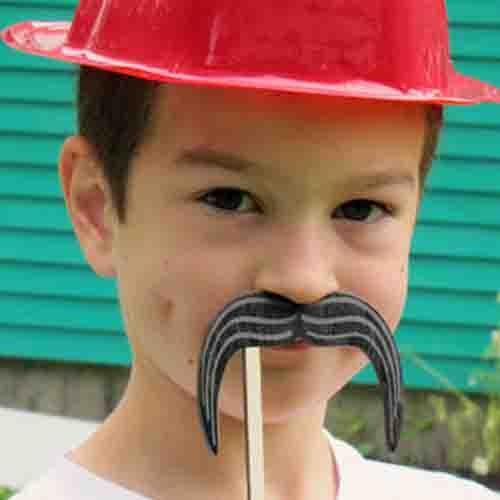 Mustache Silly Sticks